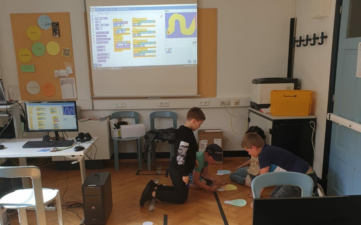 Programmierworkshop für Kids
